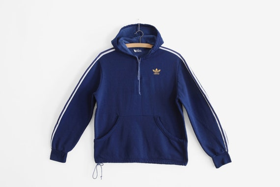 sale online latest design 2018 sneakers Original 1970s Adidas Track Pull over sweat - Ventex - Made In France - Sz.  S