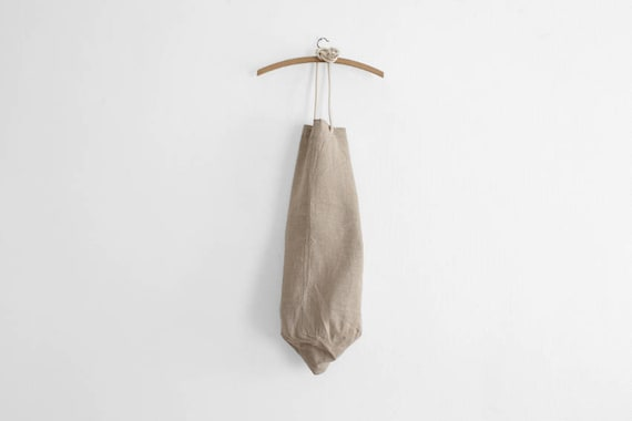 1953 French Army Linen Laundry Duffle Bag