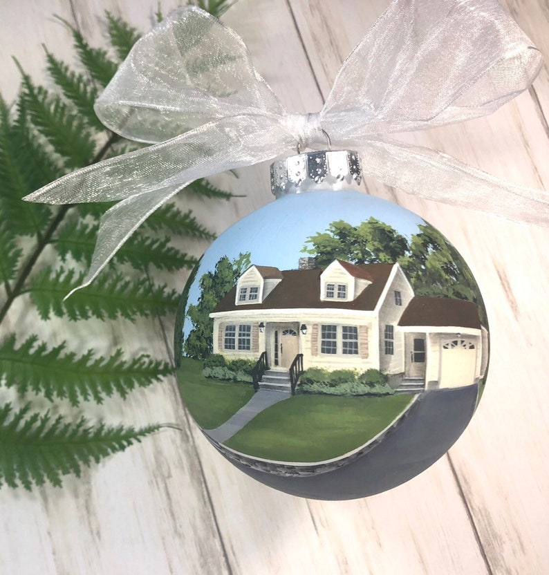 Realtor Gift for Clients Personalized Gift for New Homeowners First Home on an Ornament Housewarming Gift