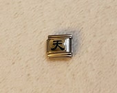 Japanese character Italian charms errors - friend, long life, trust, peace, brave, harmony, heavenly