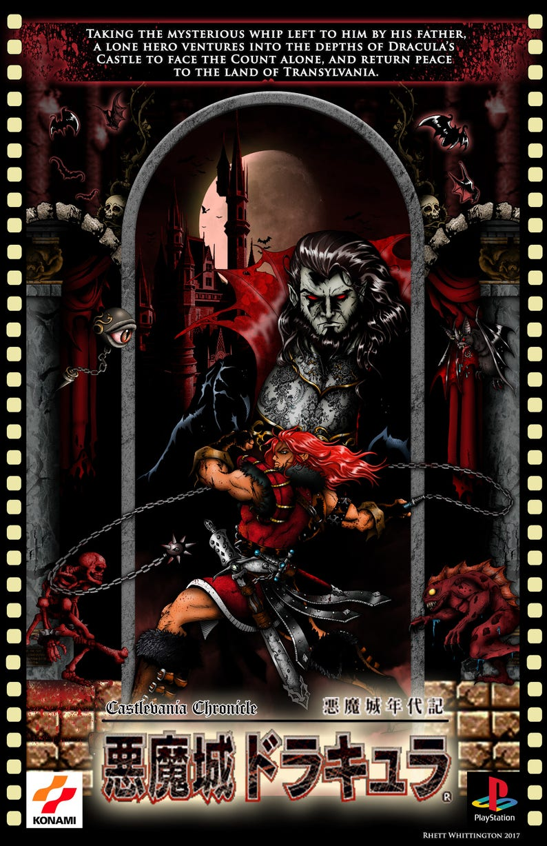 Castlevania Chronicles Poster  f8139ad16