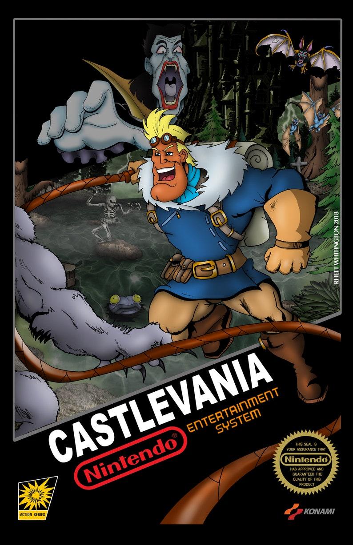 Etsy Belmont N Simon Captain Castlevania P40zqU7w