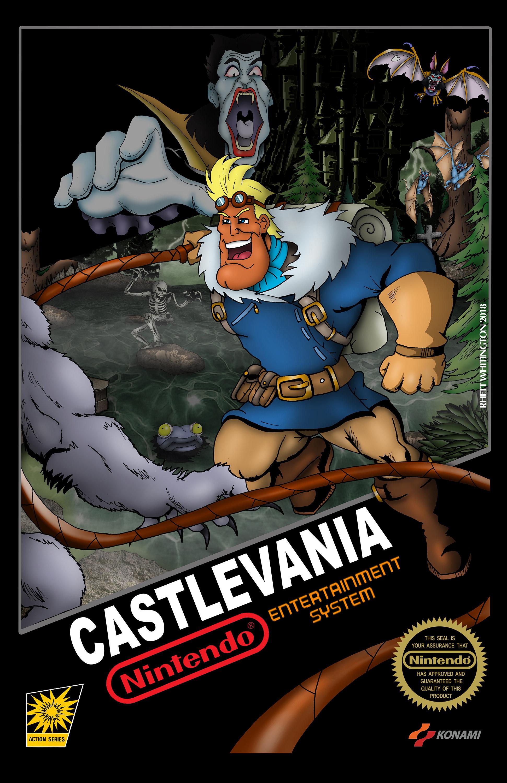 Castlevania Simon Belmont Captain N Etsy