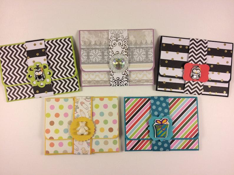 Handmade Gift Card Holders Money Holders Ticket Holders Etsy