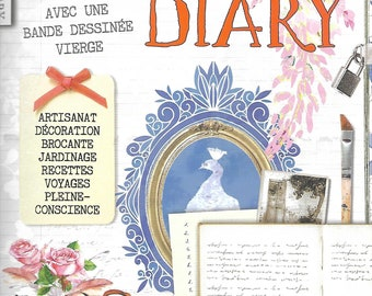Daphnes Diary 6-2019 Magazine Shabby France French Edition