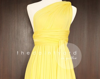 Yellow Dress For Wedding | Yellow Bridesmaid Dress Etsy