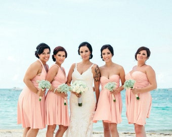 The Perfect Infinity Dress for your Bridesmaids. by thedaintyard