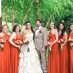 TDY Burnt Orange Maxi Bridesmaid Dress Prom Dress Infinity Dress Convertible Dress Wrap Dress Cocktail Evening Gown (Regular & Plus Size)