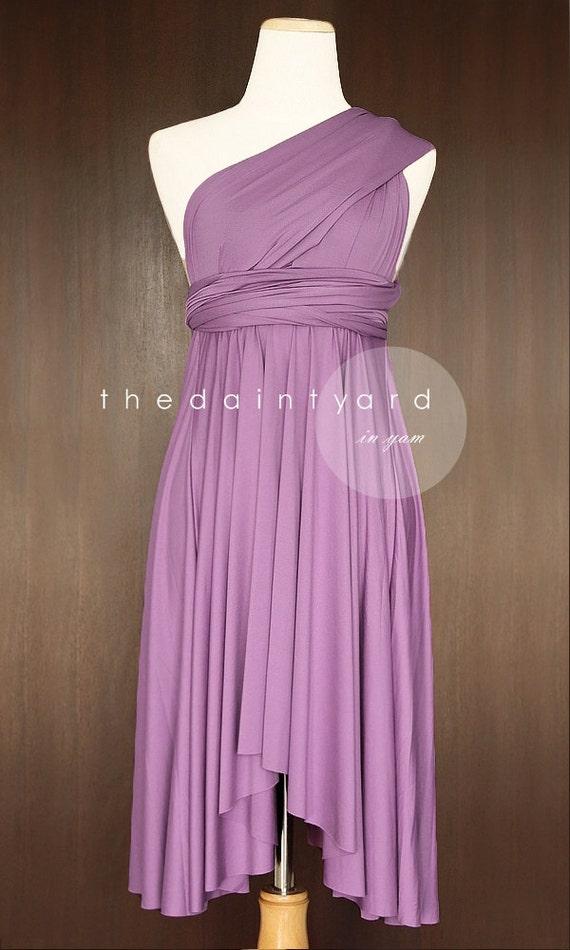 Yam Bridesmaid Dress Convertible Dress Infinity Dress Multiway