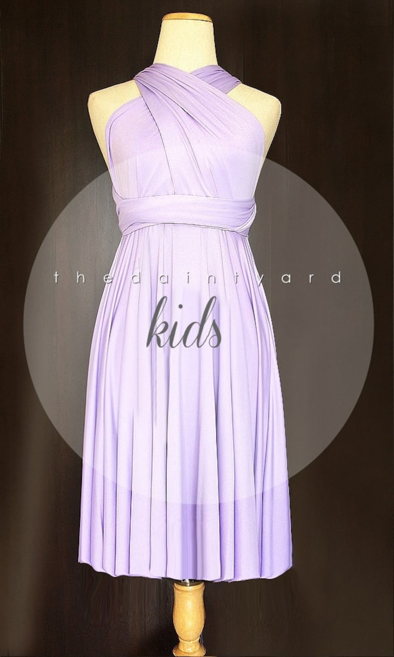 fecfb69135f TDY 35 Colours Kids Size Matching Bridesmaid Convertible
