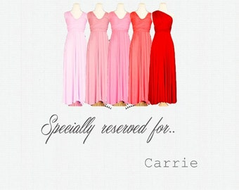 Specially reserved for Carrie