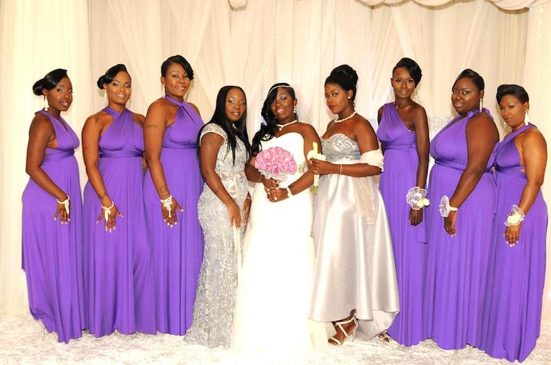 bc2536cdf9 TDY Barney Maxi Bridesmaid Dress Wedding Infinity Dress