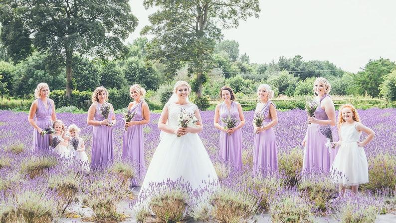 ea9a0af97c3 TDY Lilac Maxi Bridesmaid Dress Convertible Dress Infinity