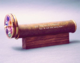 Hand Engraved For Kaleidoscope, Personalized Gift - This list is for Personalized Engraving ONLY - This is not a kaleidoscope