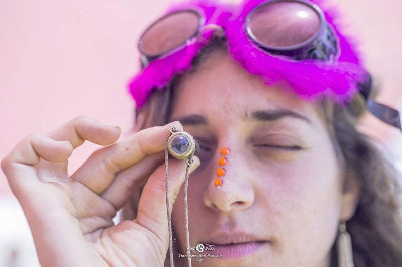 Mini Teleidoscope Burning man Accessory Fantasy Traveller Festival Accessories
