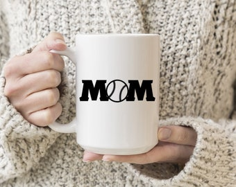 Baseball Mom Vinyl Decal, Coffee, Coffee Love, Decal, Stickers, Laptops, Tablets, Water Bottles, Tumblers, Mugs, Travel Mugs, Car Sticker