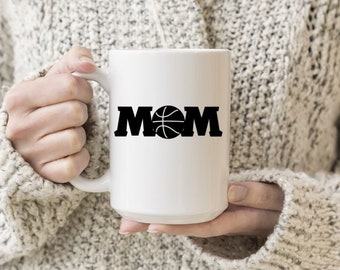Basketball Mom Vinyl Decal, Coffee, Coffee Love, Decal, Stickers, Laptops, Tablets, Water Bottles, Tumblers, Mugs, Travel Mugs, Car Sticker