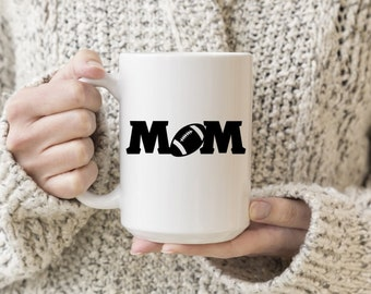 Football Mom Vinyl Decal, Coffee, Coffee Love, Decal, Stickers, Laptops, Tablets, Water Bottles, Tumblers, Mugs, Travel Mugs, Car Sticker
