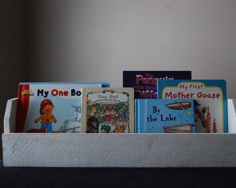 Shabby Chic 24 inch Book Rack-Nursery Book Rack