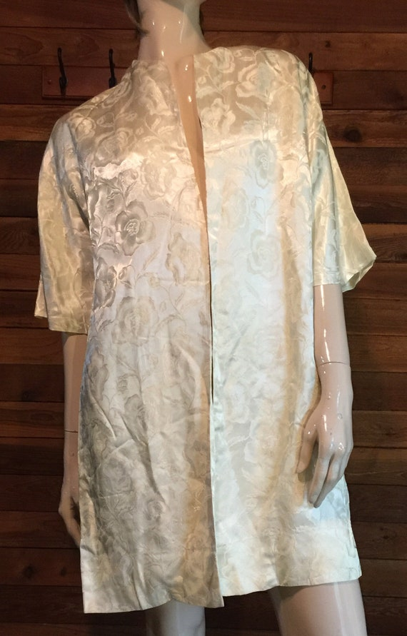 Vintage Phyllis DeTrano for Georgette Yellow Satin