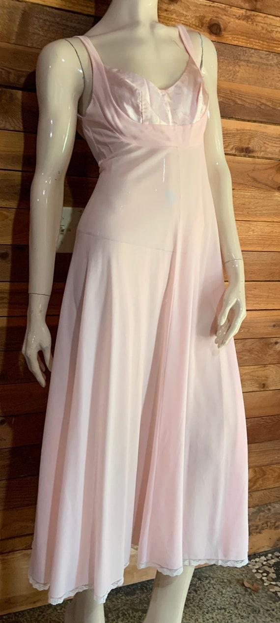 Vintage Lingerie 1960s LUCIE ANN Pink Size Petite… - image 3