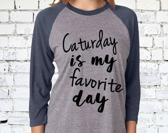 Caturday Shirt - Funny Cat Shirt, Cat Lady Shirt, Cat Gift