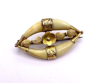 Antique Raj 4-Tooth Pin