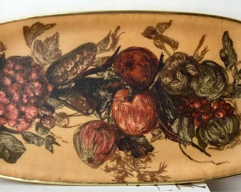 Vintage lady clare tray with floral pattern - great condtion