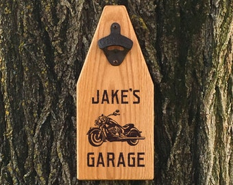 Beer Bottle Opener Wooden Sign Bottle Opener