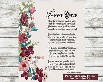 Valentine S Day Poem Love Poem Printable Poetry Print Etsy