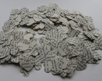 1000 Vintage Jane Austen Confetti Hearts