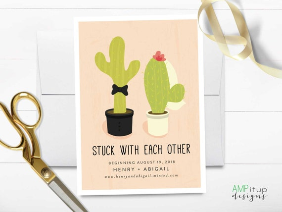 Wedding AmyPayneDesign - Funny save the date templates