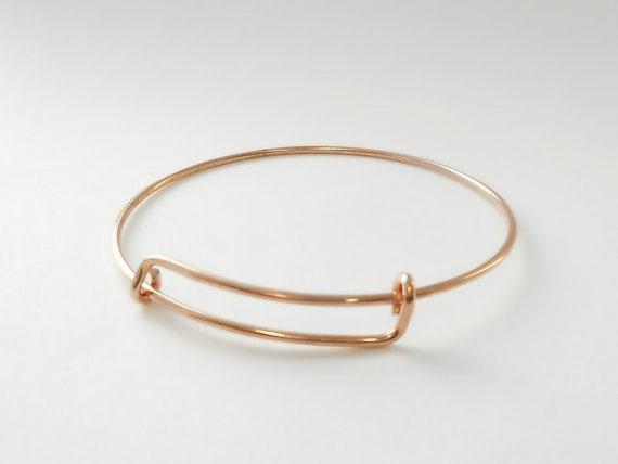 Nail Bangle /& 14 K Solid Gold Not Hollow Nail Design Bangle Bracelet 10 K
