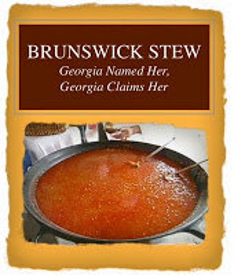 Brunswick Stew: Georgia Named Her Georgia Claims Her image 0