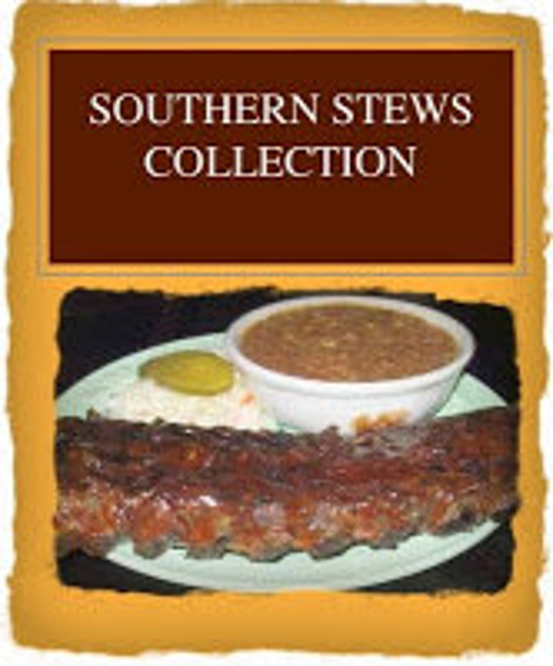 Southern Stews Collection: 8 folk heritage stews cooked by image 0