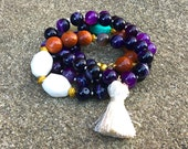Purple Banded Agate - Sil...