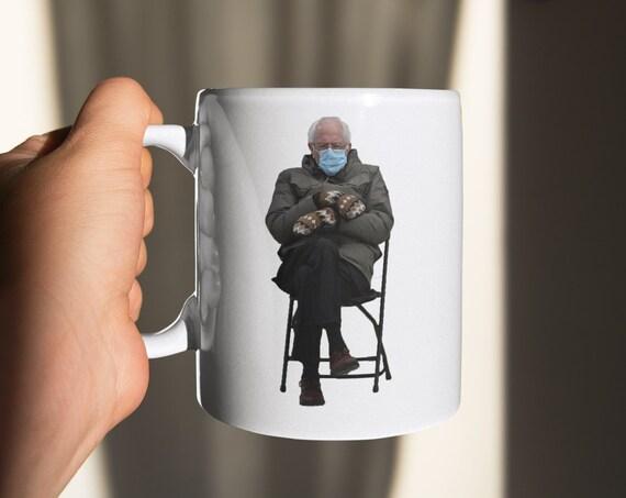 Bernie Sanders Mug #unclebernie #mittens