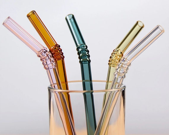 Glass drinking straw- Cocktail,Milk,Tea