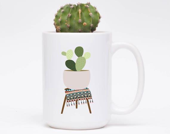 Bohemian Cactus Mug