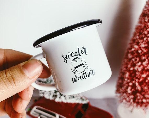 Mini espresso mug ornaments-Christmas tree. Only 2 inches!