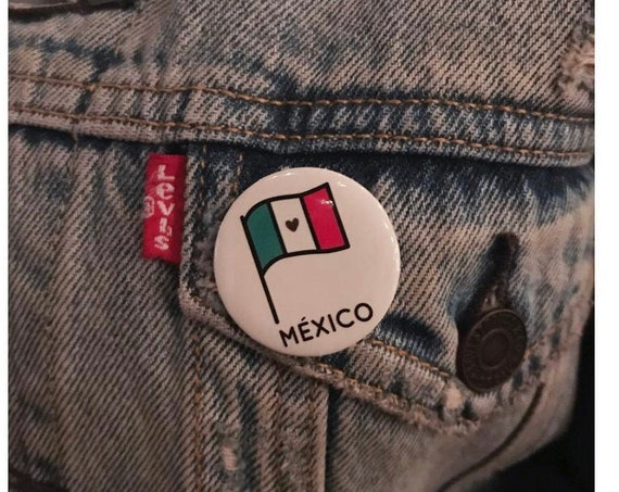 Donation for Mexico-Includes a Pin back button