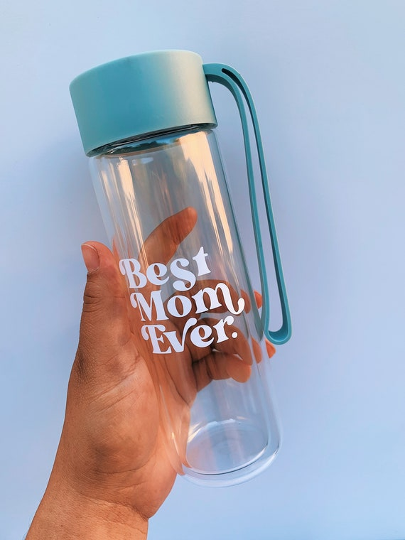 Mother's gift- Double wall Glass water bottle.