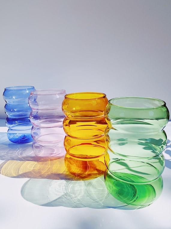 Ripple Wavy glass cup