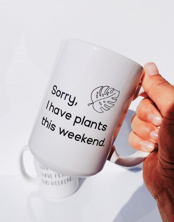 Not happening coffee mug