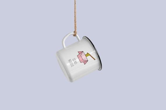 Send noods! - Enamel mug