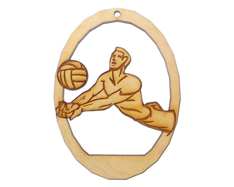 Personalized Volleyball Ornament Men S Volleyball Christmas Ornaments Men S Personalized Volleyball Gifts Volleyball Player Gifts