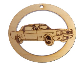 Personalized Classic Mustang Ornament - Mustang Gifts - Mustang Gift - Mustang Ornaments - Classic Car Gift - Car Lover Gifts