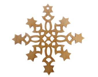 Snowflake Ornament - Snowflake Ornaments - Snowflake Gift - Unique Snowflake Gift - Snowflake Christmas Decor - Winter Decor