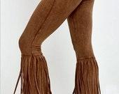 NEW Distressed Fringed Leggings-Western influence-Boho Western-Rodeochics Exclusive Fun Flirty Cowgirl Fashion