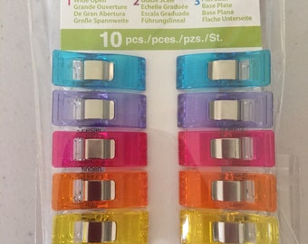 Rainbow Wonder Clips | Quilting Notion | Clover Clips
